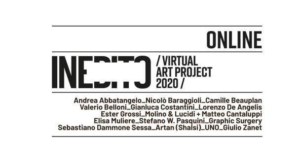 Inedito Visual Art Project 2020, in collaborazione con Molino & Lucidi e Chiara Ronchini Arte Contemporanea